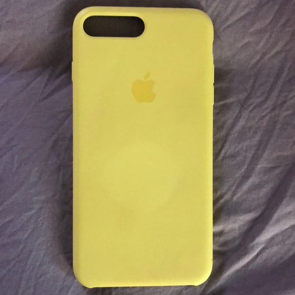 yellow silicone iphone 8 case